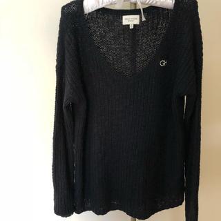 ギリーヒックス(Gilly Hicks)のギリーヒックス レディース 濃紺 ニット セーター 新品(ニット/セーター)