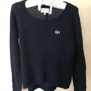 ギリーヒックス(Gilly Hicks)のみーこ様専用 2枚着セッギリーヒックス レディース濃紺セーター&赤セーター(ニット/セーター)