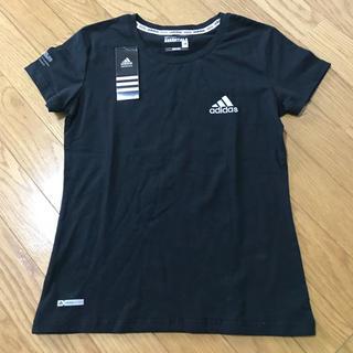 アディダス(adidas)のTシャツ adidas ヨガウェア スポーツウェア ブラック M(ヨガ)