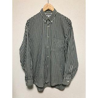 イタリア製 ナラカミーチェ BD チェックシャツ 長袖 メンズ