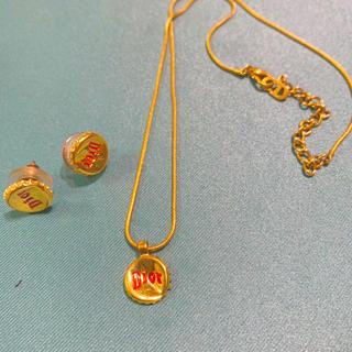 ディオール(Dior)のディオール DIORのネックレスとピアスのセット 売り(セット/コーデ)