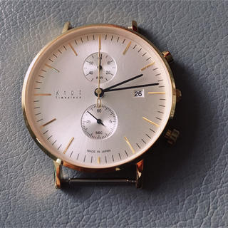 ノット(KNOT)のknot クロノグラフ CC 39(腕時計(アナログ))