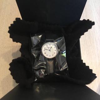 アニエスベー(agnes b.)のアニエスベー 時計 黒 ローマ数字(腕時計)
