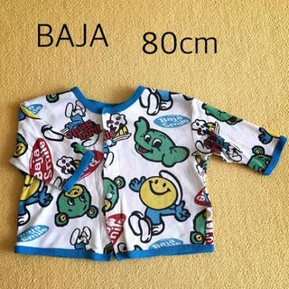 バハ(BAJA)のバハ 長袖 70cm(カーディガン/ボレロ)