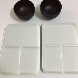 MUJI (無印良品) - 無印良品 皿 ワンプレート  お椀 セット