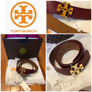 トリーバーチ(Tory Burch)の新品未使用 タグ付き TORY BURCH/リバーシブル2色ベルト(ベルト)