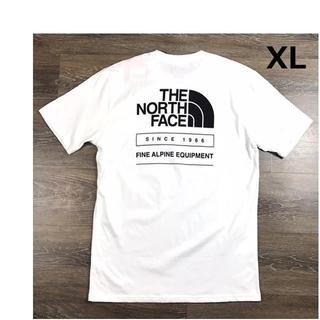 ザノースフェイス(THE NORTH FACE)のノースフェイス Tシャツ バックプリント 1966【XL】白 新品 180902(Tシャツ/カットソー(半袖/袖なし))