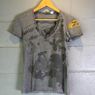 ジョンガリアーノ(John Galliano)のjohn galliano ジョンガリアーノ カットソー Tシャツ(Tシャツ/カットソー(半袖/袖なし))