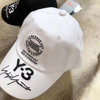ワイスリー(Y-3)の★Y-3(ワイスリー)TRUCKER CAP キャップ ホワイト(キャップ)