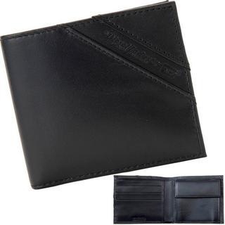 ディーゼル(DIESEL)の【新品】 ディーゼル 二つ折り財布 レザー ブラック メンズ(折り財布)