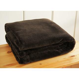 ムジルシリョウヒン(MUJI (無印良品))の無印良品 あたたかファイバー厚手毛布(毛布)