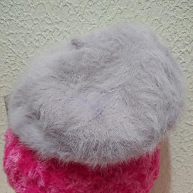 しまむら(シマムラ)の新品 しまむら ファー ベレー帽♥️WEGO レディースの帽子(ハンチング/ベレー帽)の商品写真