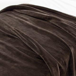 ムジルシリョウヒン(MUJI (無印良品))の新品 無印良品 あたたかファイバー厚手毛布 ダブル(毛布)