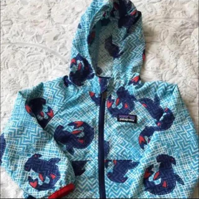 patagonia(パタゴニア)のパタゴニア バギーズ ジャケット キッズ/ベビー/マタニティのベビー服(~85cm)(ジャケット/コート)の商品写真
