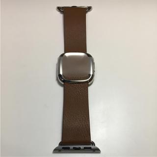 アップルウォッチ(Apple Watch)の未使用品 アップル純正 モダンバックル Apple Watch 38mm 対応(その他)
