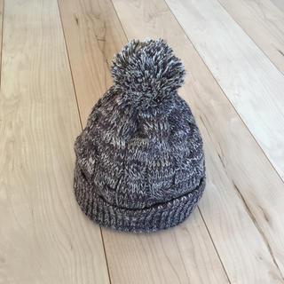ムジルシリョウヒン(MUJI (無印良品))の送料込◎美品◎ニット帽 ブラウン(ニット帽/ビーニー)