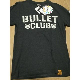 シマムラ(しまむら)のBULLET CLUB コラボTシャツ グレー M(Tシャツ/カットソー(半袖/袖なし))