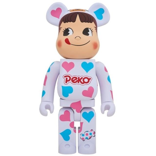 不二家(フジヤ)の爆買い野郎様専用 BE@RBRICK 着ぐるみ ペコちゃん ハート 1000% エンタメ/ホビーのおもちゃ/ぬいぐるみ(キャラクターグッズ)の商品写真