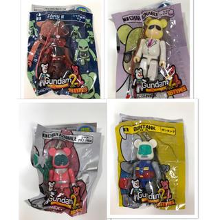 【未使用品】《PEPSI》『Gundam』BEARBRICK×9