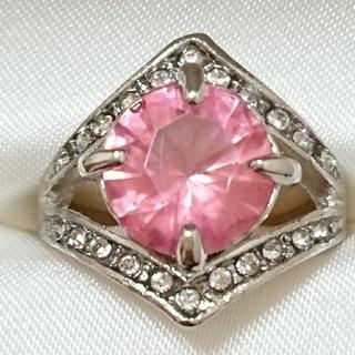 新品未使用 美品 リング 指輪 オシャレなデザイン 女性用 サイズ14号 49(リング(指輪))