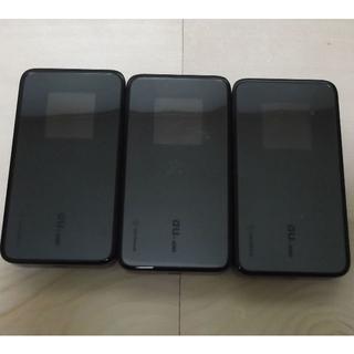 エーユー(au)のau Wi-Fi WALKER DATA08W 3個 バッテリーなし【送料込】(その他)