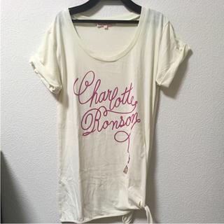 シャーロットロンソン(Charlotte Ronson)のcharlotteronson Tシャツ(Tシャツ(半袖/袖なし))