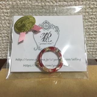 プロポーズリング☆雑誌記載商品☆真っ赤な薔薇と霞草☆※未使用品(リング(指輪))
