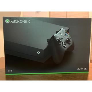 エックスボックス(Xbox)のxbox one x 本体(家庭用ゲーム機本体)