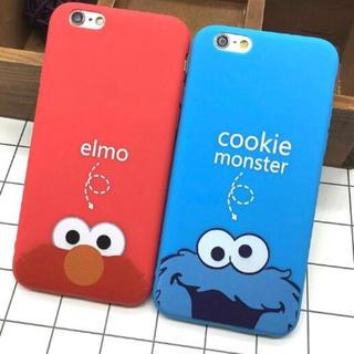 iPhoneシリコンケース エルモ&クッキーモンスター☆対応機種多数☆