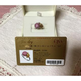 ✿(笠原真寿美)18Kカラージェムデザインリング★53  (リング(指輪))