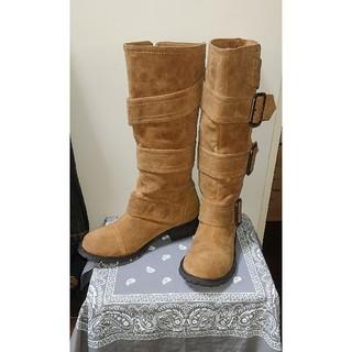 エスペランサ(ESPERANZA)のEsperanza スェードローヒールブーツ(ブーツ)