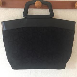 ダナキャランニューヨークウィメン(DKNY WOMEN)のDKNY ロゴトートバッグ 黒 (トートバッグ)