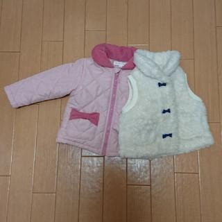 シマムラ(しまむら)のアウター2点セット  size80(ジャケット/コート)