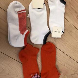 ムジルシリョウヒン(MUJI (無印良品))の【新品】スニーカーソックス 5足 靴下 レディース(ソックス)