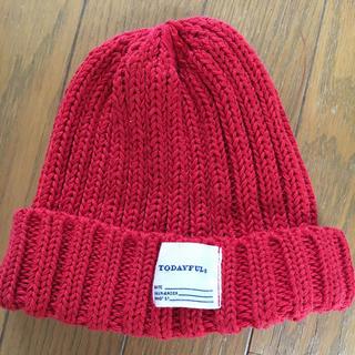 トゥデイフル(TODAYFUL)のTODAY FULニット帽(ニット帽/ビーニー)