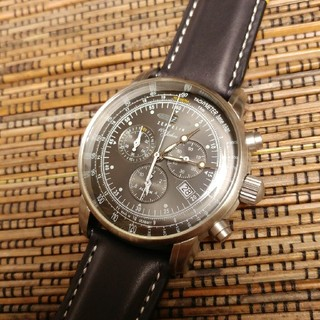 ツェッペリン(ZEPPELIN)の☆新品 送料無料☆ ツェッペリン 100周年記念モデル 7680-2メンズ腕時計(腕時計(アナログ))