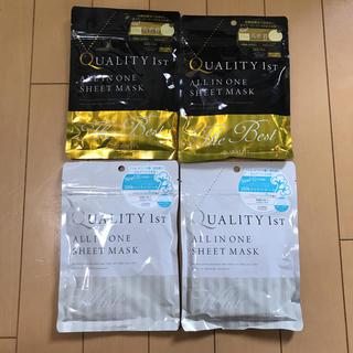 クオリティファースト(QUALITY FIRST)のクオリティファースト ❤︎ シートマスク ❤︎ 4袋(パック / フェイスマスク)