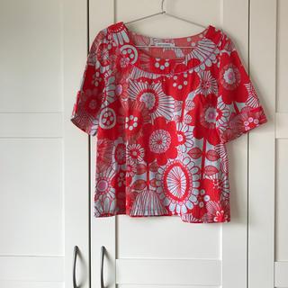 マリメッコ(marimekko)のマリメッコ ゆったりシャツ(シャツ/ブラウス(半袖/袖なし))