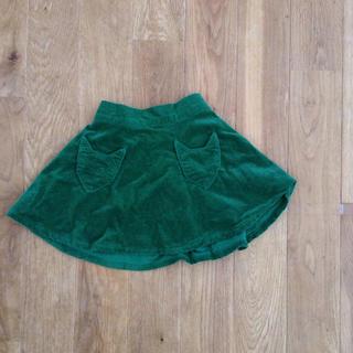 スタジオミニ(STUDIO MINI)のカルディア キツネ付き コーデュロイ フレア スカート90(スカート)