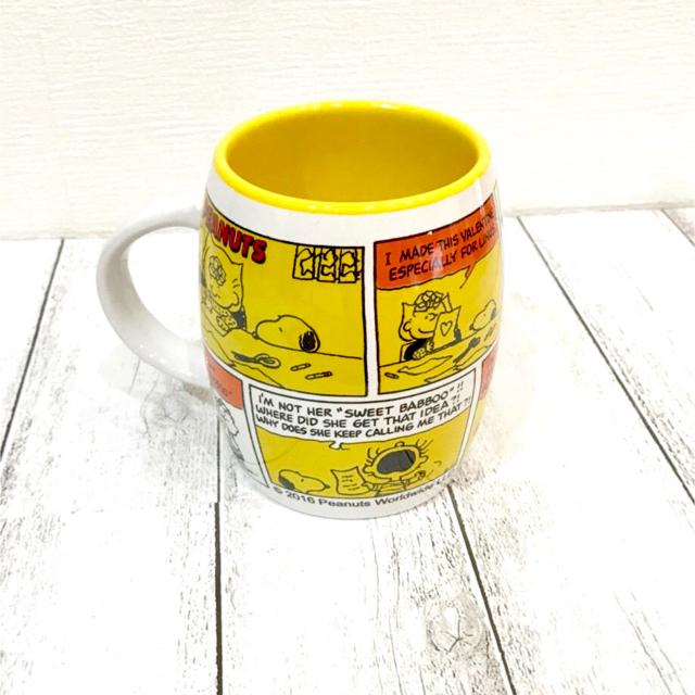 SNOOPY(スヌーピー)の【PEANUTS】スヌーピーぽってりマグカップ インテリア/住まい/日用品のキッチン/食器(グラス/カップ)の商品写真