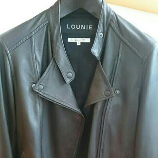 ルーニィ(LOUNIE)のpeko様専用、ルーニィ、ラムのライダーズジャケット美品(ライダースジャケット)