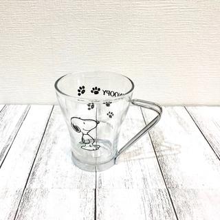 スヌーピー(SNOOPY)の【PEANUTS】スヌーピーステンレス取っ手付きグラス(グラス/カップ)