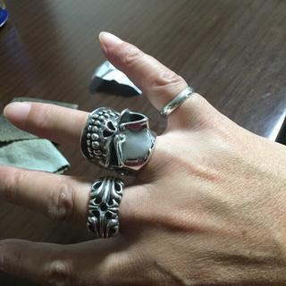 クロムハーツ(Chrome Hearts)のスターリンギア  リング❗️(リング(指輪))