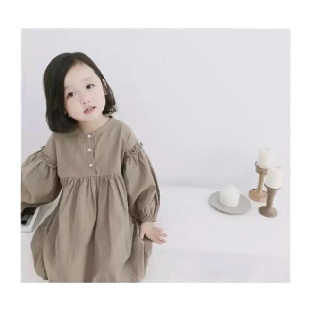 Caramel baby&child (キャラメルベビー&チャイルド)のふんわり秋ワンピ⑅ キッズ/ベビー/マタニティのキッズ服 女の子用(90cm~)(ワンピース)の商品写真