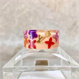 ルイヴィトン(LOUIS VUITTON)の正規品 ヴィトン 指輪 バーグファランドール M リング マルチカラー ロゴ 2(リング(指輪))