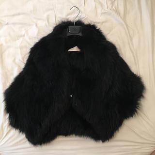 ヴァレンティノ(VALENTINO)のvalentinoroma フォックスジャケット(毛皮/ファーコート)