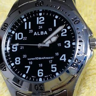 アルバ(ALBA)のSEIKO ALBA美品腕時計‼️男女兼用ボーイズsize‼️(腕時計(アナログ))