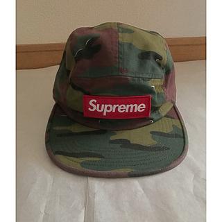 シュプリーム(Supreme)の新品 supreme シュプリーム Camp Cap military camo(キャップ)