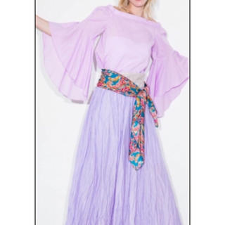 フレイアイディー(FRAY I.D)のさくらんぼ様専用♡ワッシャーロングスカート(ロングスカート)