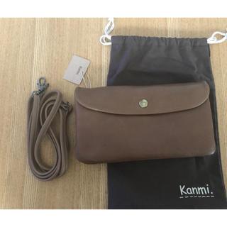 カンミ(Kanmi.)の未使用 カンミ 牛革 長財布 お財布ショルダー (ショルダーバッグ)
